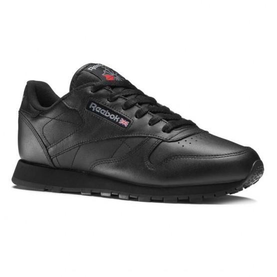 Chaussure Reebok Classic Leather Enfant Noir (564VESAW)