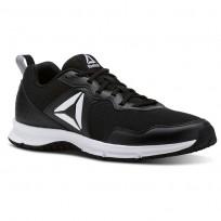 Reebok Express Runner 2.0 Running Shoes Womens Black/White (571BLNWQ)