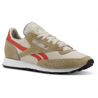 Reebok Classic 83 Shoes Mens Retro-Super Neutral/Parchment/Carotene/White (576GXKWB)