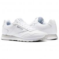 Reebok Royal Shoes Mens White/Steel (590ZAQPU)
