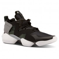 Reebok 3D OP. Shoes Mens Legacy-Black/Chalk Green/Foggy Grey/White (591VCAHU)