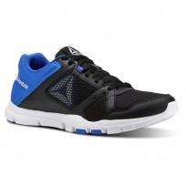 Chaussure De Sport Reebok YourFlex Train 10 Homme Noir/Bleu/Blanche (597BCMPR)