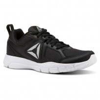 Reebok 3D FUSION TR Training Shoes Womens Black/Silver/White (599WFXIK)