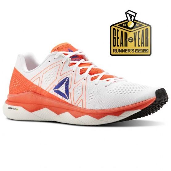 Reebok Floatride Run Running Shoes Mens Atomic Red/White/Blue Move/Black (609NXSEY)