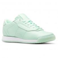 Reebok Princess Shoes Womens Pastel-Digital Green/White (614BMYGT)