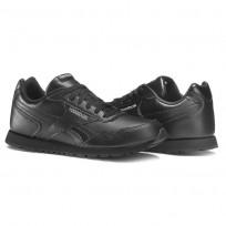Reebok Royal Glide Shoes Kids Black (622XLPAS)