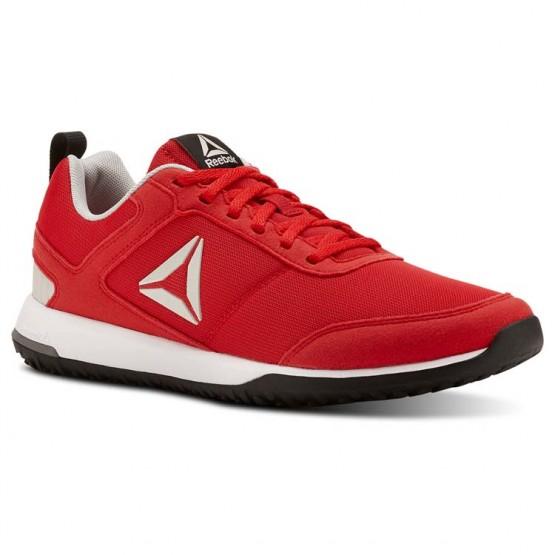 Reebok CXT TR Training Shoes Mens Primal Red/Blk/Foggy Gry/Wht/Skull Grey/Silv (623MNKAL)