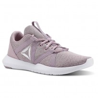 Reebok Reago Training Shoes Womens Infused Lilac/Lavendar Luck/White (626KSCAO)