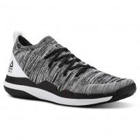 Reebok Ultra Circuit TR ULTK LM Training Shoes Mens Black/White (626VAGXY)