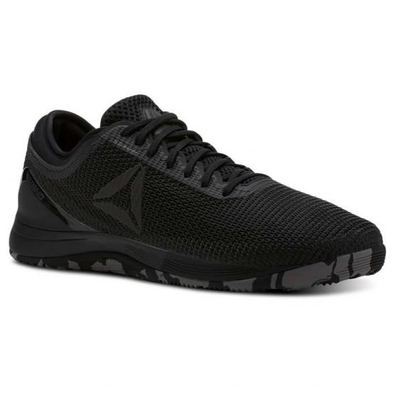 Reebok CrossFit Nano Shoes Mens Black/Shark/Atomic Red (629LWSEY)