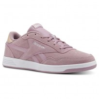 Reebok Royal Techque Shoes Womens Infused Lilac/Bare Beige/White (634HQJMW)