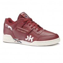 Reebok Workout Plus Shoes Mens Ativ-Urban Maroon/White/Collegiate Navy/Chalk (635ECNWU)