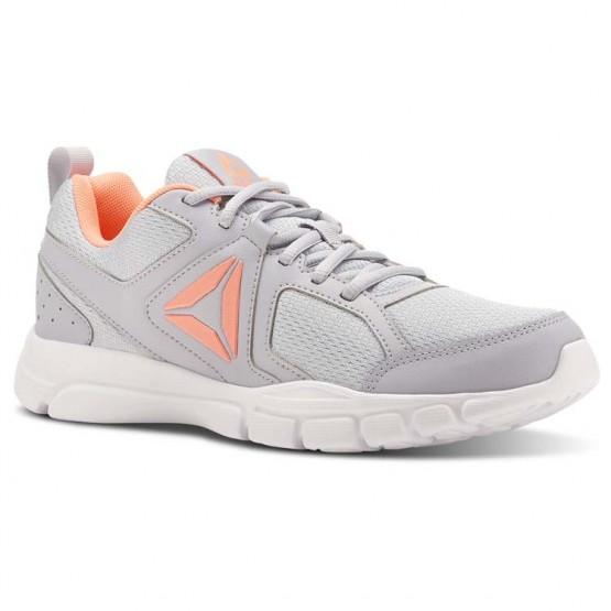 Reebok 3D FUSION TR Training Shoes Womens Cloud Grey/Digital Pink/White (640SHREP)