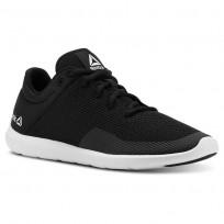 Reebok Studio Basics Studio Shoes Womens Blk/Wht (645FYJMI)