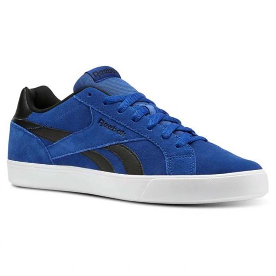 Chaussure Reebok Royal Complete Homme Bleu Royal/Noir/Blanche (648GPSVJ)
