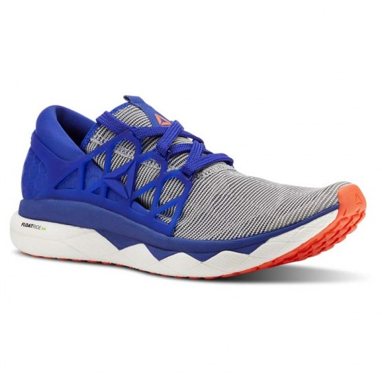Reebok Floatride Run Running Shoes Mens White/Blue Move/Atomic Red (649LCTND)