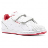 Chaussure Reebok Royal Comp Fille Blanche/Rose (651THPFR)