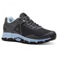 Reebok Ridgeride Trail 3.0 Walking Shoes Womens Ash Grey/Dreamy Blue/Black (654ROAFE)