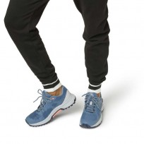 Reebok Sawcut Walking Shoes Womens Blue Slate/Cloud Grey/Collegiate Navy/Digital (657YOZVE)