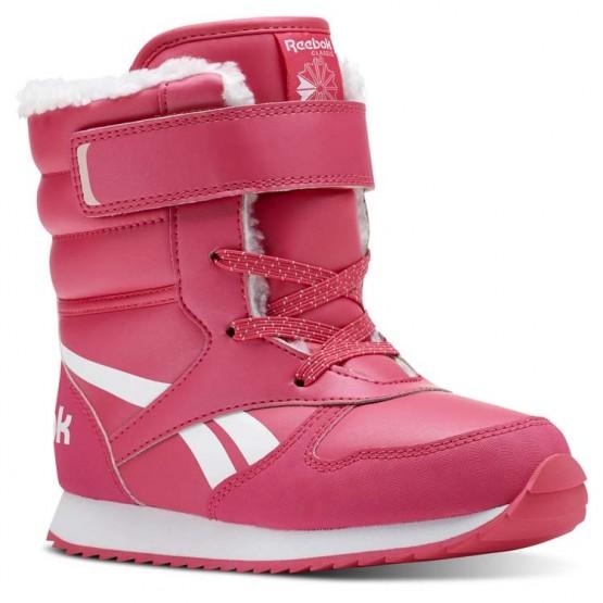 Buty Reebok CL SNOW JOGGER Dziewczynka Różowe/Białe/Głęboka Różowe (666UVHNQ)