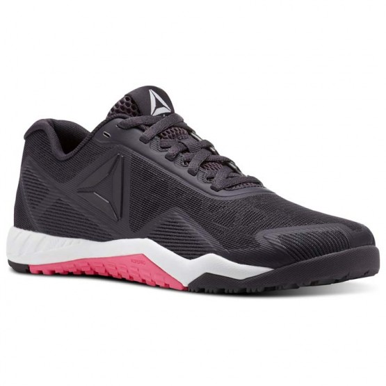 Reebok ROS Workout TR 2.0 Training Shoes Womens Purple/Smoky Volcano/White/Acid Pink (668ZMOJY)