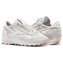 reebok x face stockholm παπουτσια γυναικεια μπεζ/γκρι/γκρι/γκρι/ροζ (671rdoql)