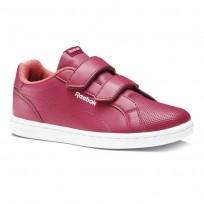 Reebok Royal Comp Shoes Girls Rugged Rose/Victory Pink/White (688SKLDT)