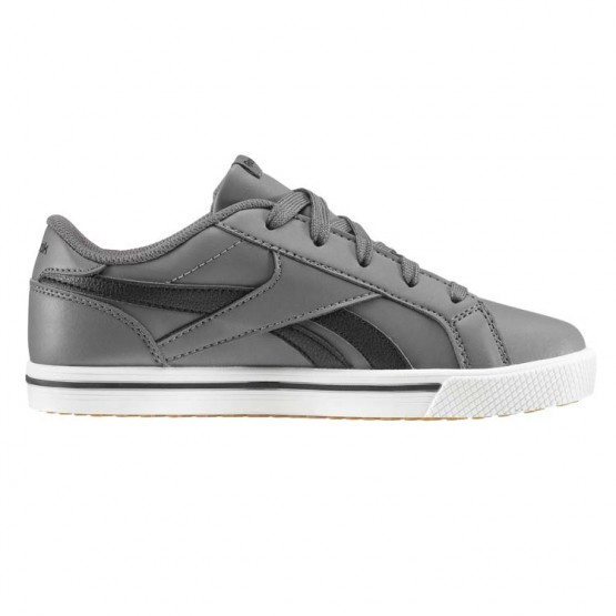 Chaussure Reebok Royal Comp Garcon Grise/Noir (692OMBED)