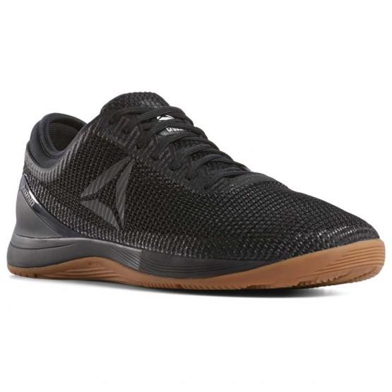 Reebok CrossFit Nano Shoes Womens Black/Reebok Rubber Gum/White (699FSUJZ)
