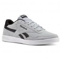 Reebok Royal Techque Shoes Mens Baseball Grey/Black/White (703KUMXA)