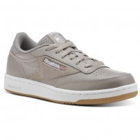 Reebok Club C 85 Shoes Kids Powder Grey/White/Washed Blue (706NHOGX)