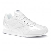 Chaussure Reebok Royal Classic Jogger Fille Blanche/Metal (707IUAPT)