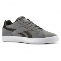 Chaussure Reebok Royal Complete Homme Noir/Blanche (712UVLHY)
