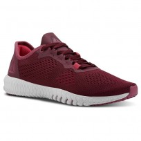Reebok Flexagon Training Shoes Womens Rusticwine/Twstdbery/Porcelain/Twstdpnk/Chalk (717QGCVS)