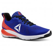 Reebok Sweet Road 2 Running Shoes Mens Blue Move/Atomic Red/Black/White (719NKASC)