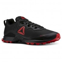 Reebok All Terrain Running Shoes Mens Black/Primal Red/Ash Grey (726WTKGC)