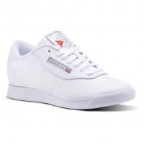 Reebok Princess Shoes Womens White (727OPRYK)