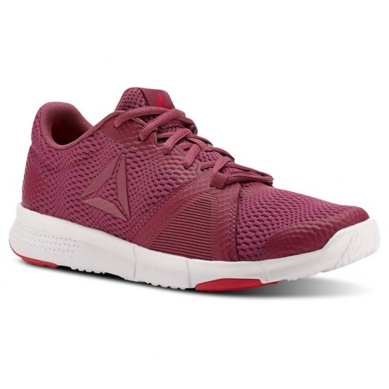 Reebok Flexile Training Shoes Womens Twisted Berry/Infused Lilac/Twisted Pink/Wht (736GPUWJ)