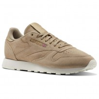 Chaussure Reebok Classic Leather Homme Marron (738JODSC)