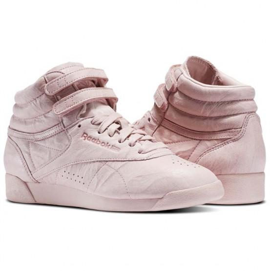 reebok freestyle hi παπουτσια γυναικεια ροζ (739zuhgy)