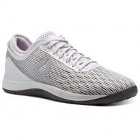 Reebok CrossFit Nano Shoes Womens Grey/White/Stark Grey/Quartz/Smoky Volcano (741AEHMN)