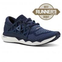 Reebok Custom Floatride Run Running Shoes Womens Collegiate Navy/Bunker Blue/Blue Slate/White (743GHREZ)