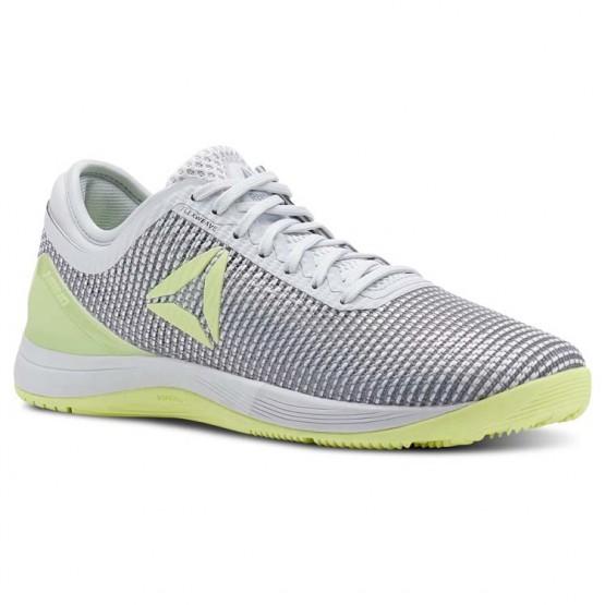 Reebok CrossFit Nano Shoes Womens Spirit White/Cool Shadow/White/Lemon Zest (752IOUKF)