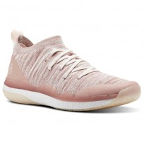 Reebok Ultra Circuit TR ULTK LM Studio Shoes Womens Chalk Pink/Pale Pink/White (760DPBCJ)