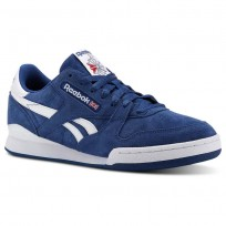 Chaussure Reebok Phase 1 Pro Homme Bleu/Blanche (764ZXBFA)