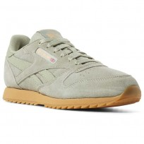 Chaussure Reebok Classic Leather Enfant Grise (768VFYCE)