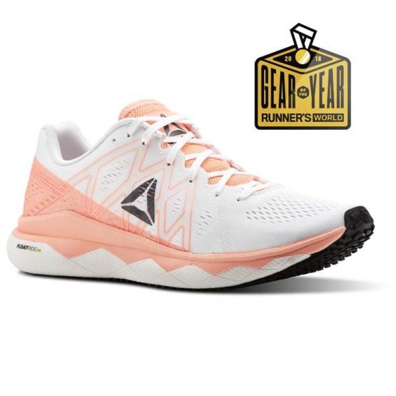 Reebok Floatride Run Running Shoes Womens Digital Pink/White/Black/Ash Grey (770QWUZD)