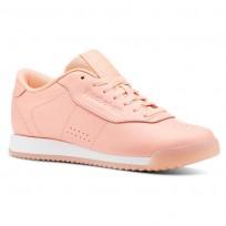 Reebok Princess Shoes Womens Pastel-Digital Pink /White (776HFROJ)