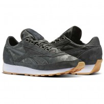 Reebok Aztec Shoes Mens Iron Stone/White-Gum (779NCSWQ)