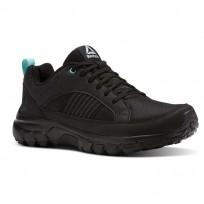 Reebok DMX Rode Comfort Running Shoes Womens Black/Cloud Grey/Turquoise (792NMRIG)